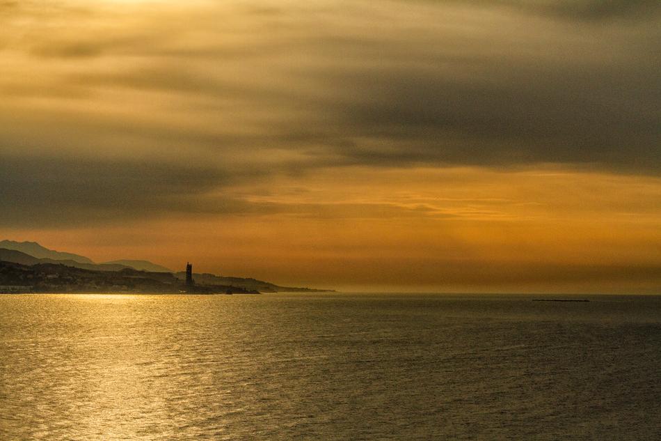 Malaga-Sunset