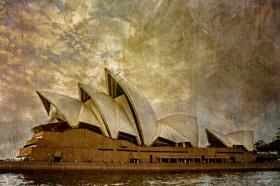 Sometimes an iconic piece of art, such as the Sydney Opera House, evokes emotions and impressions which must be conveyed in a photographer's image.  I loved the magic of this place!