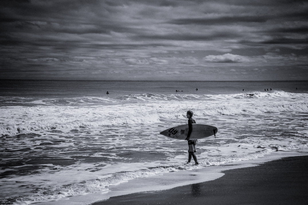 Hurricane Joaquin brought those long anticipated waves to surfers on Amelia Island last weekend.
