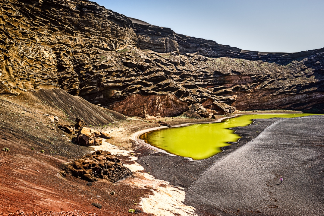 Green Lagoon of Lanzarote