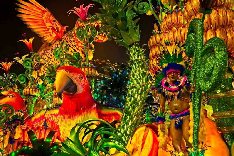 Samba Parade - Rio De Janeiro